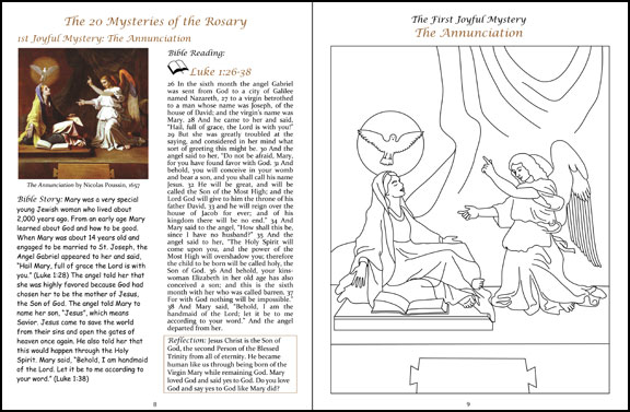 Also Included Is A Short Version Of The Story Our Lady Fatima And Coloring Page Jesus Blessing Children